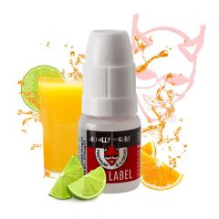 Red Label E-liquid - Orange and Lime Fizz